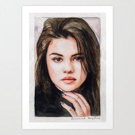 Sel Watercolors Art Print