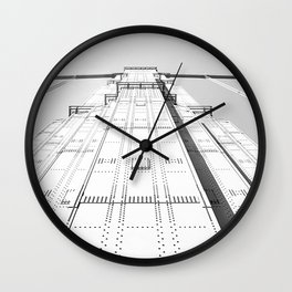 Sky Walking Wall Clock