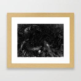 Koi Impression Framed Art Print