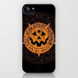 Cult of the Great Pumpkin: Alchemy Logo iPhone Case