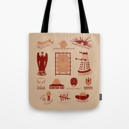 Doctor Who |Aliens & Villains Tote Bag