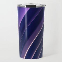 Abstract Dark Violet Wallpaper Travel Mug