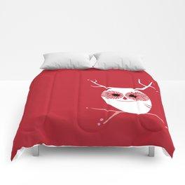 Cherry Blossom Owl Comforters