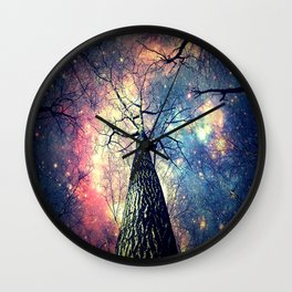 Hope Starts With Perception Wall Clock