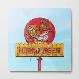 Humdinger! Metal Print