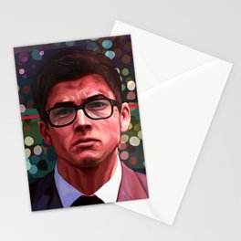 Through His Mind Stationery Cards