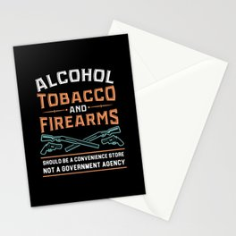 Alcohol Tobacco Firearms - Gift Stationery Cards