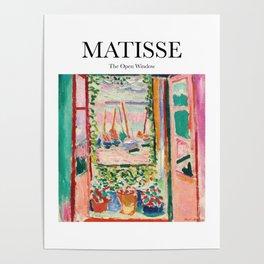 Matisse - The Open Window Poster