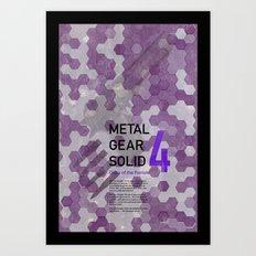 Metal Gear Solid 4: Guns of the Patriots Art Print