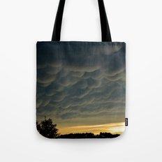 Strange Sky Tote Bag