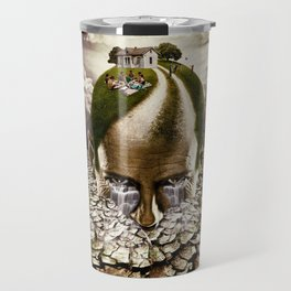 Inhabited Head Travel Mug