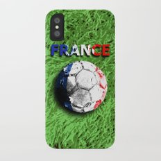 Old football (France) Slim Case iPhone X
