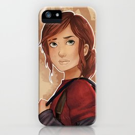 Ellie-The Last of Us  iPhone Case