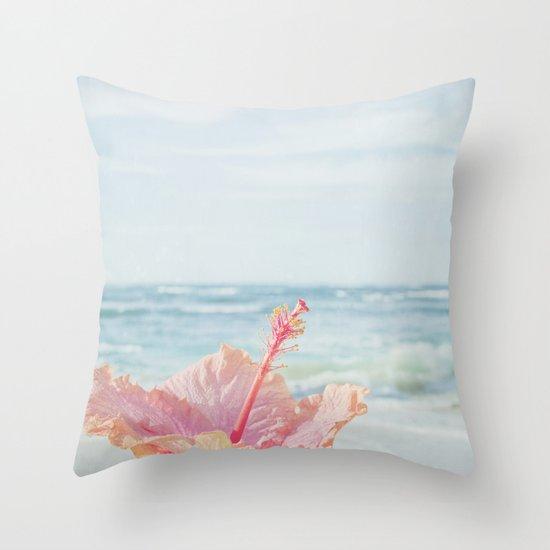 The Blue Dawn Throw Pillow