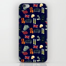 221B Baker Street version 2 iPhone Skin