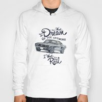 mustang Hoodies featuring Mustang dream by dareba