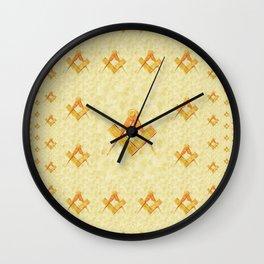 Freemason, Mason, Masonic, Lodge, Symbol, Setsquare, Compass Wall Clock
