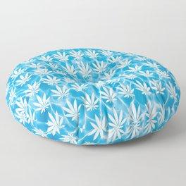 Poolside in White Floor Pillow