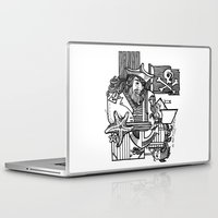 pirate Laptop & iPad Skins featuring Pirate by María Nikólskaya
