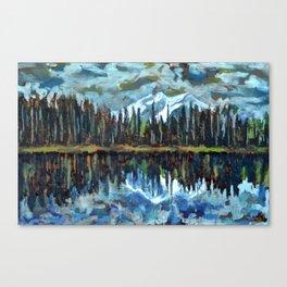 Sprague Lake, Rocky Mountain National Park Canvas Print