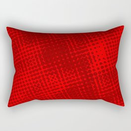 Red Grunge Background Rectangular Pillow