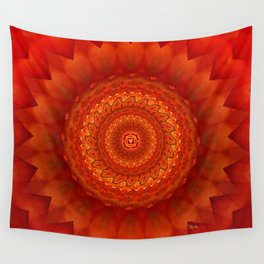 Muladhara chakra mandala Wall Tapestry