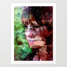Torn Between Art Print