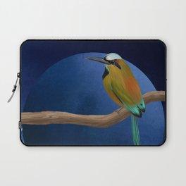 Motmot bird illustration Laptop Sleeve