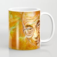 lama Mugs featuring Dalai Lama - quote by ARTito