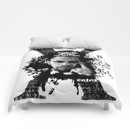 Malcolm X Stand Tall Comforters