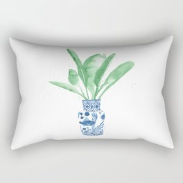 Ginger Jar + Bird of Paradise Rectangular Pillow