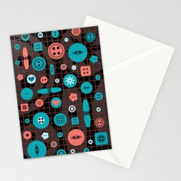 button it Stationery Cards