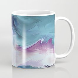 Abstract Art- Watercolor Art- Fractal Art- Blue Art- Ocean- Water- Marann Coffee Mug