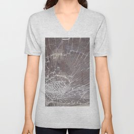 Texture #12 Glass Unisex V-Neck