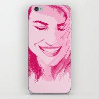 tyler spangler iPhone & iPod Skins featuring Rose Tyler by AlysIndigo