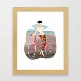 Beach Ride Framed Art Print