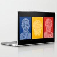 putin Laptop & iPad Skins featuring Snowden Triptych by Jean-Philippe Côté