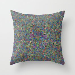 UnEarthly Alien Throw Pillow