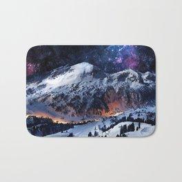 Mountain CALM IN space view Bath Mat