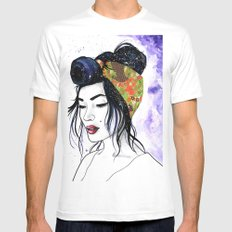 Victoria White Mens Fitted Tee X-LARGE