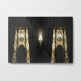 GWB Glowing  Metal Print