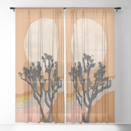 Joshua Tree Sheer Curtain