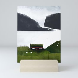 Neighbors Mini Art Print