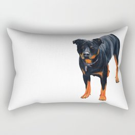 rottweiler Rectangular Pillow