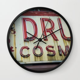 Drugs Wall Clock