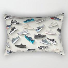 sneaker rain Rectangular Pillow