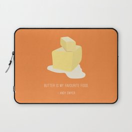 Andy Loves Butter Laptop Sleeve