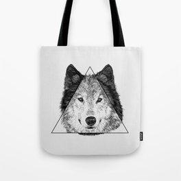 Trinity Wolf Tote Bag