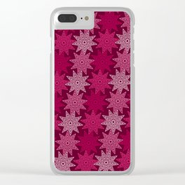 Op Art 81 Clear iPhone Case