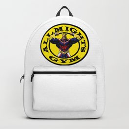Allmight Boku No Hero My Hero Academia Golds gym Backpack